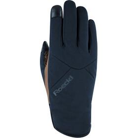 Roeckl Kochel Winddichte Handschoenen, zwart/bruin